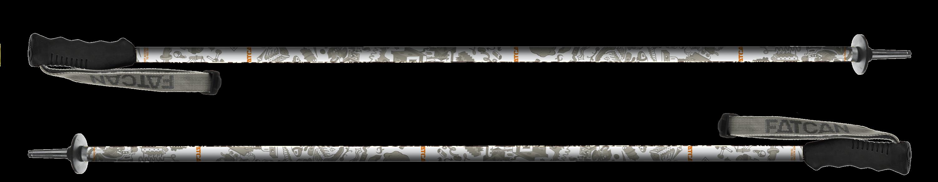 Comics 18 - Fatcan Ski Poles - made in Italy